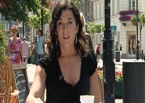 Marta Kondraciuk -Showbiz Polsat News Gina Bobassi