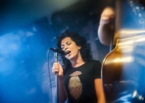 Gina Bobassi koncert w Moko-Tuff, fot. Piotr Gruchała
